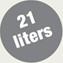 21 litrów