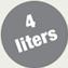4 litry